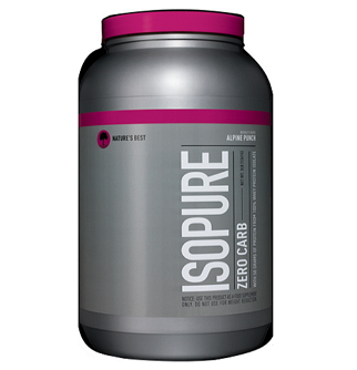 IsoPure 0 Low Carb protein
